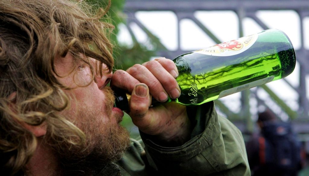 Алкоголик Сергей